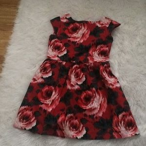 Gap kids floral print dress